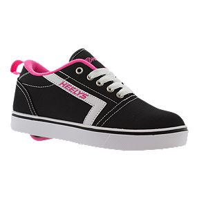 new style ba344 f4fc3 Heely s Girl s GR8 Pro Shoes - Black White Pink