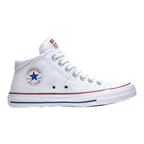 Converse Women's Chuck Taylor All Star Madison Mid Top Shoes - White