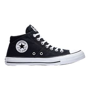 sports shoes df340 38463 Converse Women s Chuck Taylor All Star Madison Mid Top Shoes - Black