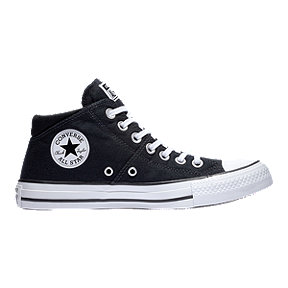 Converse Women's Chuck Taylor All Star Madison Mid Top Shoes - Black