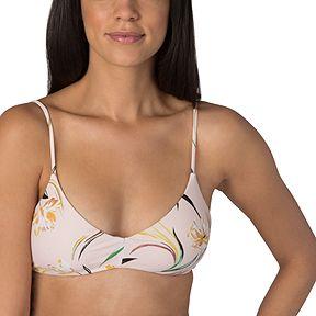 62c3786bb9 O'Neill Women's Claris Floral Bralette Bikini Top