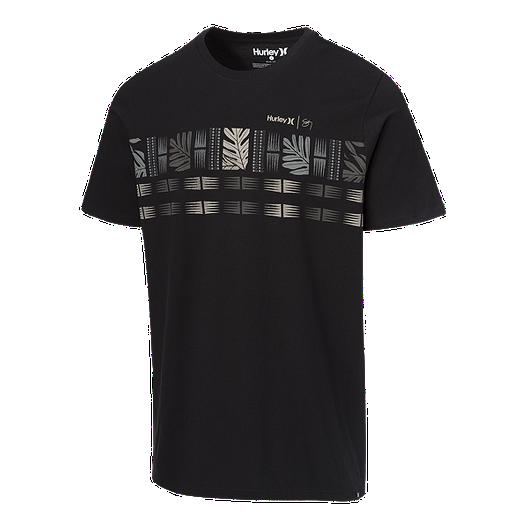 33e0d465 Hurley Men's Premium Sig Zane Maloulu T Shirt - Black   Sport Chek