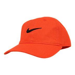 2474d3b7738b44 Nike Kids' 4-7 Heritage 86 Hat - Habanero Red