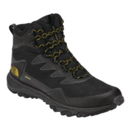 The North Face Men's Ultra Fastpack III Mid GTX Hiking Boots - Black/Amber