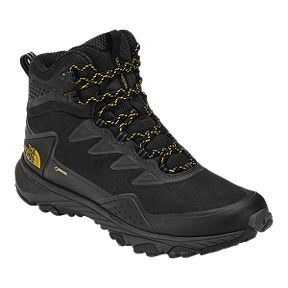 The North Face Men s Ultra Fastpack III Mid GTX Hiking Boots - Black Amber fa04333c1