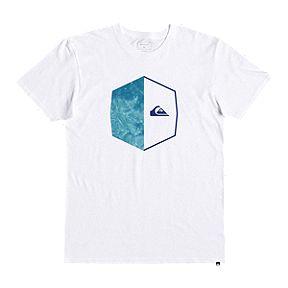 2f1a153138693 Quiksilver Men's Galactic Circle T Shirt - White