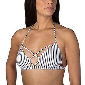 938786f30d O Neill Women s Highway Stripe Tri Bikini Top