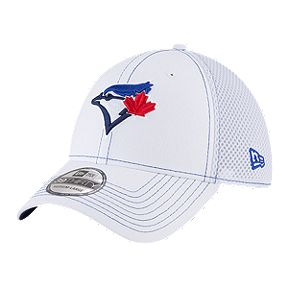 10f16059 Toronto Blue Jays New Era 39THIRTY White Team Neo Cap