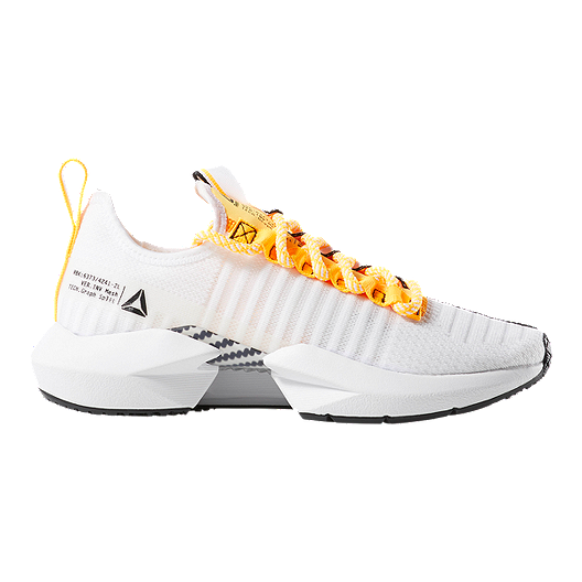 671c555932048 Reebok Women s Sole Fury SE Running Shoes - White Black Yellow ...