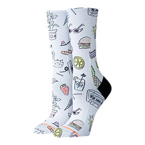 Stance Women's Foundation Shopping List Crew Sock