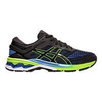 Asics Men's Gel Kayano 26 Running Shoes - Black/Blue