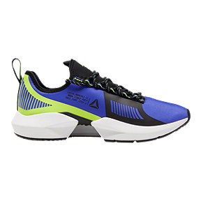 Reebok Men's Sole Fury TS Ultima Running Shoes - Purple/Black/Lime
