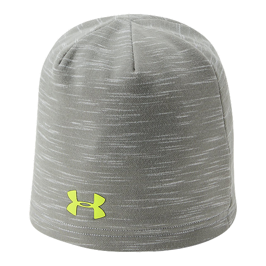 76cf75ceb Under Armour Boys' ColdGear Infrared Storm Beanie - Steel