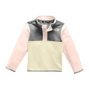 The North Face Toddler Girls' Glacier Fleece 1/4 Snap Long Sleeve