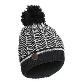 3897e2e1d82 Kombi Girls  Hip Hat - Black White Chevron