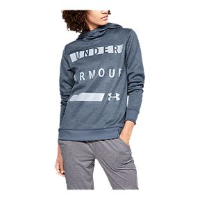5207f105a2f5 Under Armour Women s Armour Fleece Wordmark Pullover Hoodie