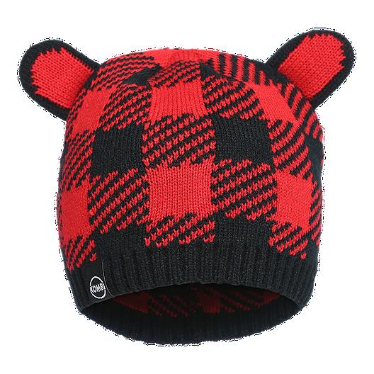 86881f297 Kombi Toddler Cutie Hat - Red Buffalo Plaid | Sport Chek