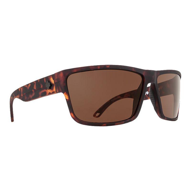 Image of Spy Rocky Matte Camo Tortoise Sunglasses - Happy Bronze
