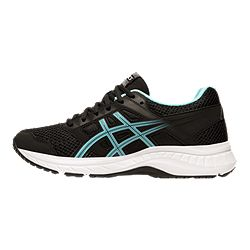 a0d416e2 ASICS Women's GEL Moya Walking Shoes - Black/Green | Sport Chek