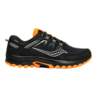Saucony Men's VF Excursion TR 13 GTX Trail Running Shoes - Black/Orange