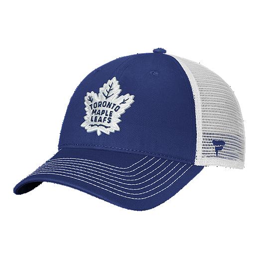 watch 38d7e 1a54d Toronto Maple Leafs Fanatics Primary Logo Unstructured Adjustable Snapback  Cap - BLUE