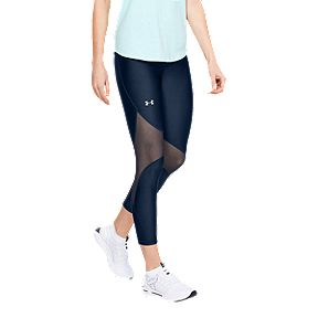 aceafd630f Under Armour Women's Project Rock Printed Ankle Crop Tights