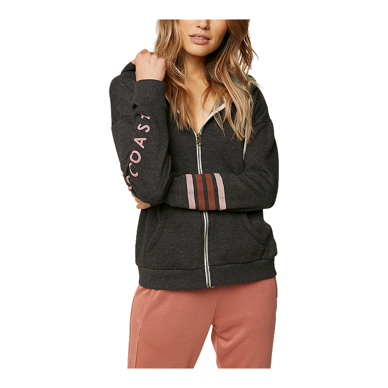 ONEILL Womens Denmark Zip Fleece with Drawcord Sweater