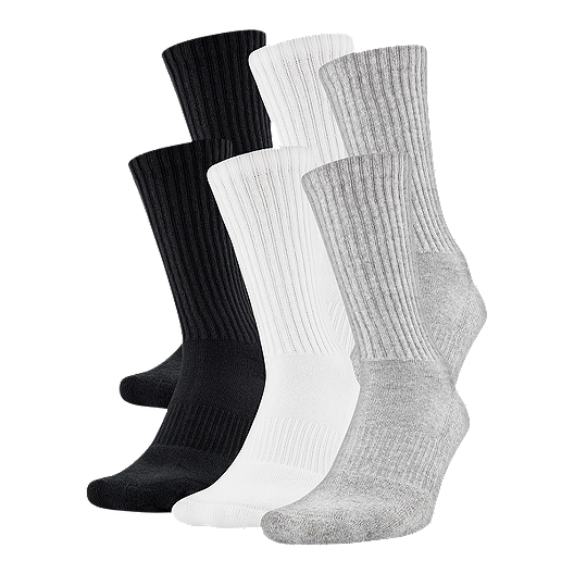 63a5974b3860 Under Armour Men's Charged Cotton 2.0 Crew Sock - 3 Pack