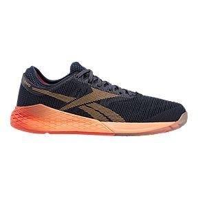 1338524410087 Reebok Women's CrossFit Nano 9 Training Shoes - Navy/Orange