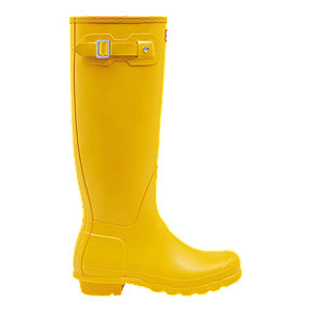 Hunter Women's Original Tall Rain Boots - Yellow
