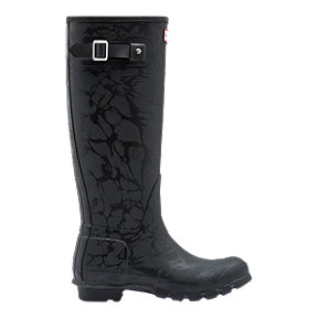 Hunter Women's Original Insulated Tall Wellington Boots - Black
