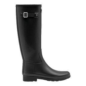 Hunter Women's Original Refined Slim Fit Tall Rain Boots - Black
