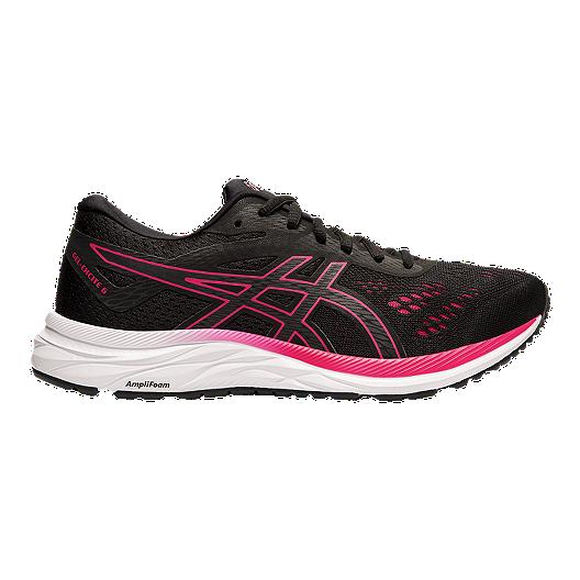 revendeur c98bd 87ca9 ASICS Women's GEL - Excite 6 Running Shoes - Black/Rose