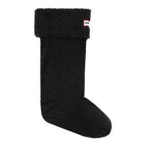 Hunter Women's Original Six Stitch Cable Tall Boot Socks - Black
