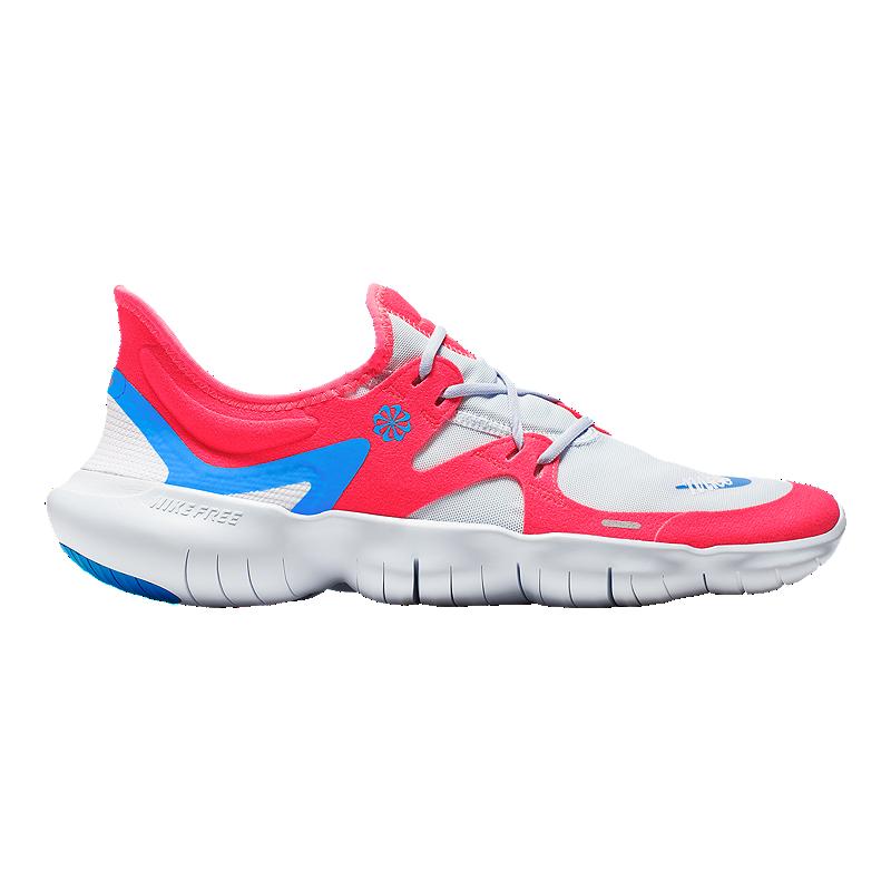 hot sale online 13191 ed716 Nike Men's Free RN 5.0 JDI Running Shoes - Red/Blue/White