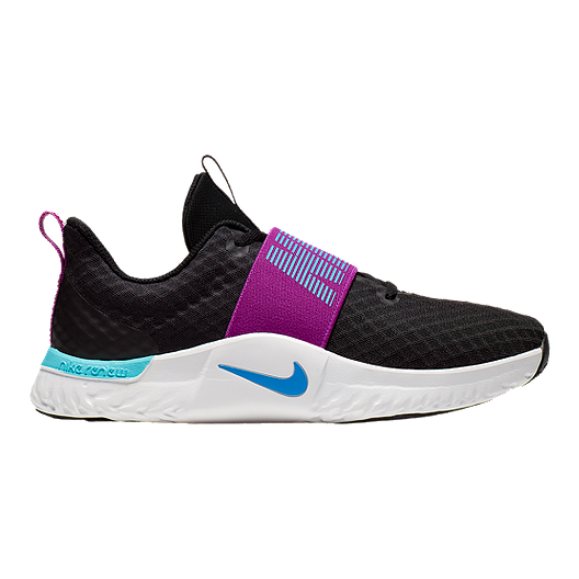 Nike Women's TR 9 Training Shoes BlackBluePurple
