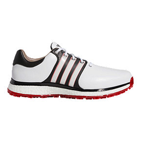 adidas Men's Tour360 XT-SL Shoes - White/Core Black/Scarlet