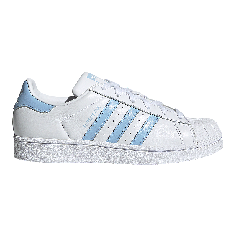 factory price da4da 5ae18 adidas Women's Superstar Shoes - White/Blue/Black