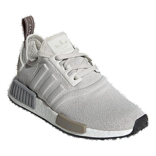 Adidas Women S Nmd R1 Shoes Raw White Core Black Sport Chek