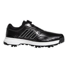 timeless design 03a64 6be6c adidas Golf Men s CP Traxion BOA Golf Shoes - White Silver