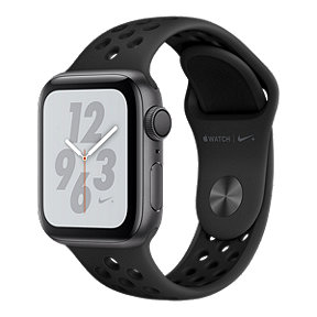 Apple Watch Nike+ Series 4 GPS 40mm with Black/Anthracite Nike Sport Band