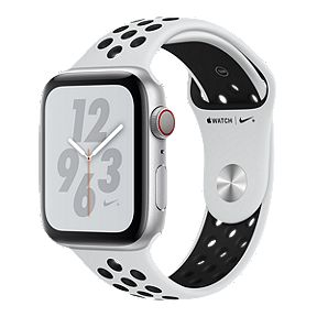 a0a55ecc526 Apple Watch Nike+ Series 4 GPS+Cellular 44mm with Silver/Pure Platinum/Black