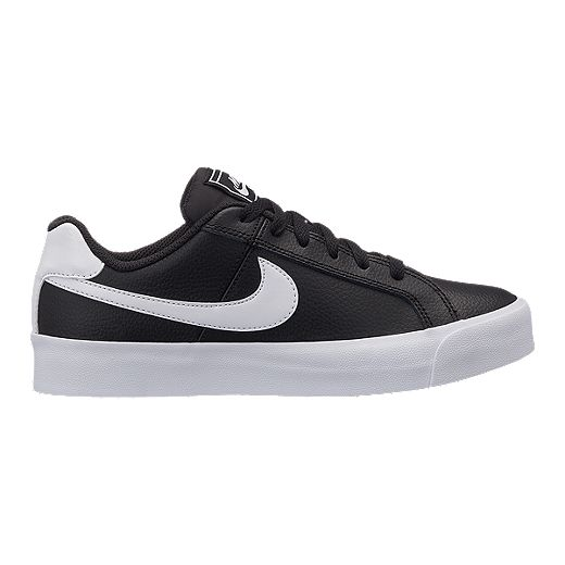 Nike Women S Court Royale Ac Shoes Black White Sport Chek