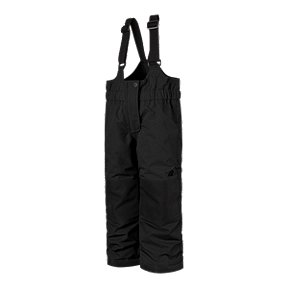 The North Face Insulated Bib Toddlers Ski Pants 2//TNF Black