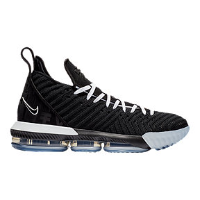 "Nike Men's LeBron XVI ""Equality"" Basketball Shoes - Black/White"