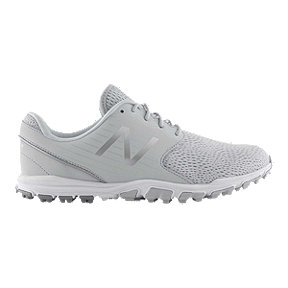New Balance Golf Women's 2019 Minimus SL Spikeless Golf Shoes - Light Grey