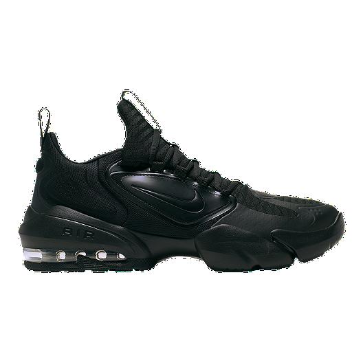 Nike Men's Air Max Alpha Savage Training Shoes BlackWhite