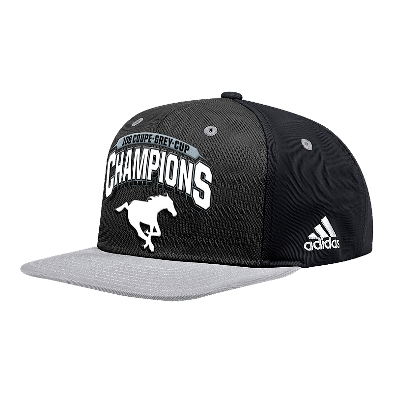 Calgary Stampeders adidas Grey Cup 2018 Champs Cap  44e0a5d44bb