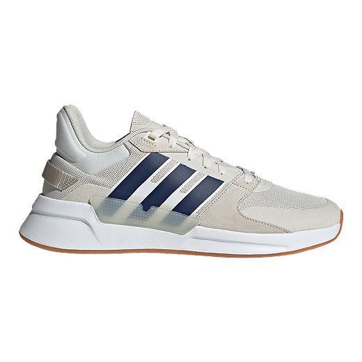 silbar matraz Gemidos  adidas Men's Run 90s Shoes - Cloud White/Dark Blue/Raw White   Sport Chek