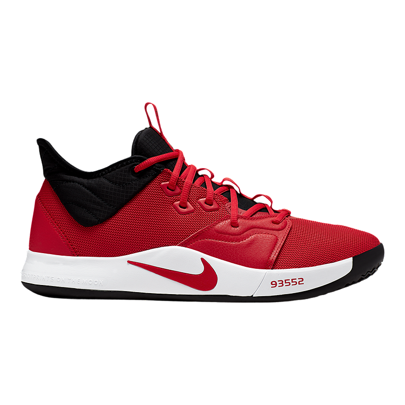the best attitude 4eef3 22118 Nike Men's Paul George 3 Basketball Shoes - Red